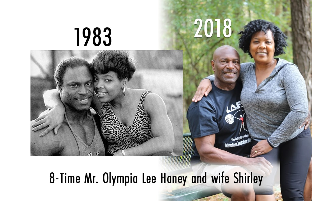 Fit At Any Age, Lee and Shirley Haney Before and After